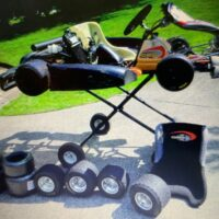 Rotax go kart with lots of extras